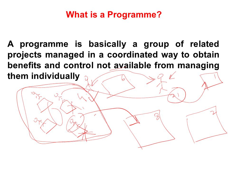 What is a Programme
