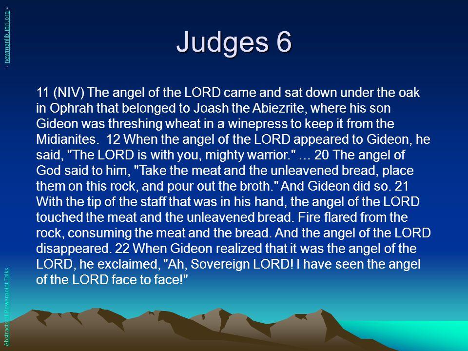 Judges 6 - newmanlib.ibri.org -