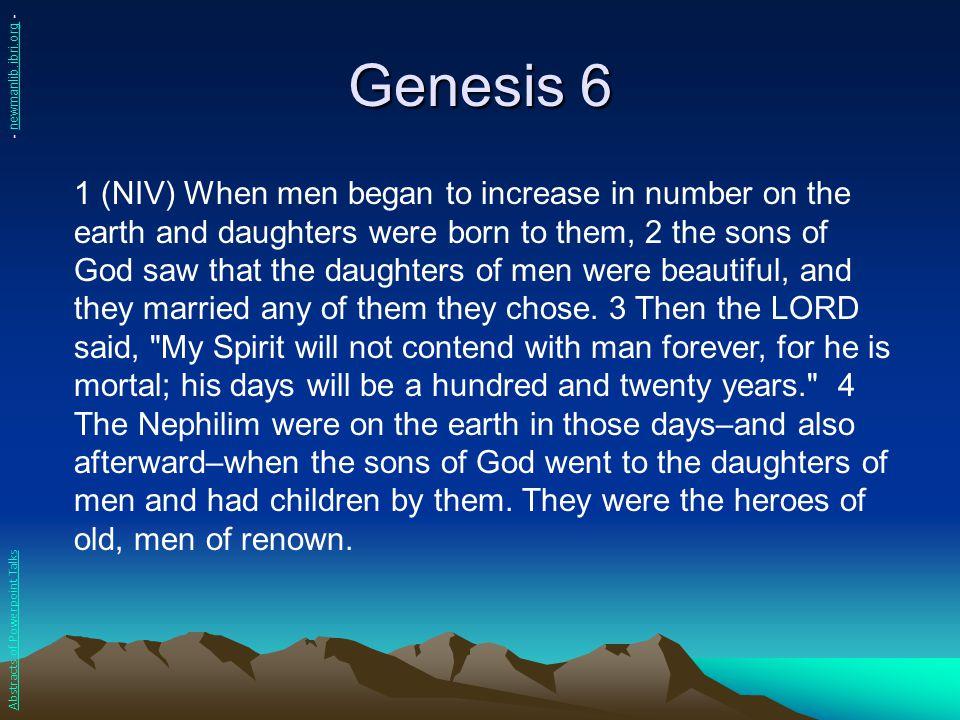 Genesis 6 - newmanlib.ibri.org -