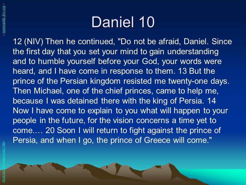 Daniel 10 - newmanlib.ibri.org -