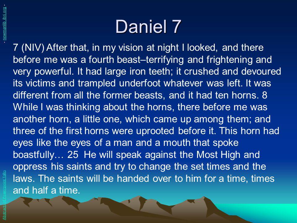Daniel 7 - newmanlib.ibri.org -
