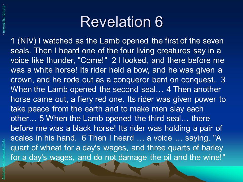 Revelation 6 - newmanlib.ibri.org -