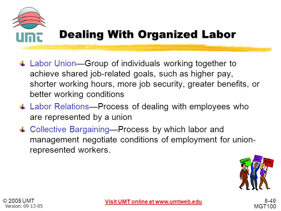 Dealing With Organized Labor