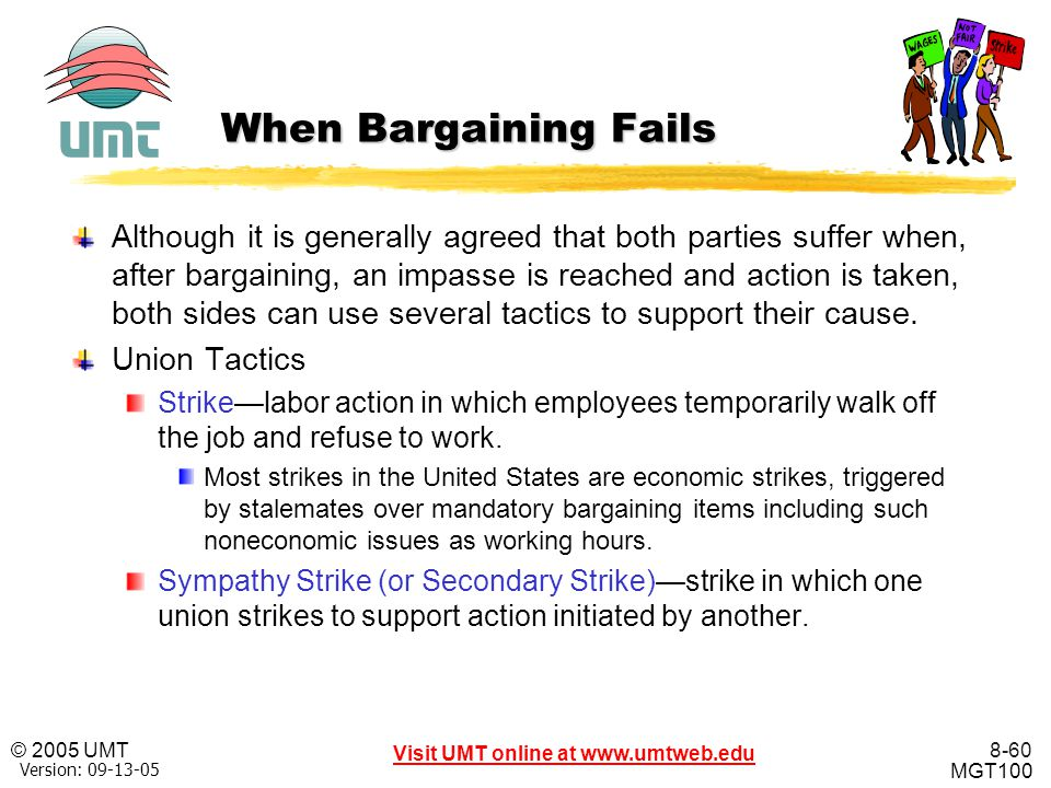 When Bargaining Fails