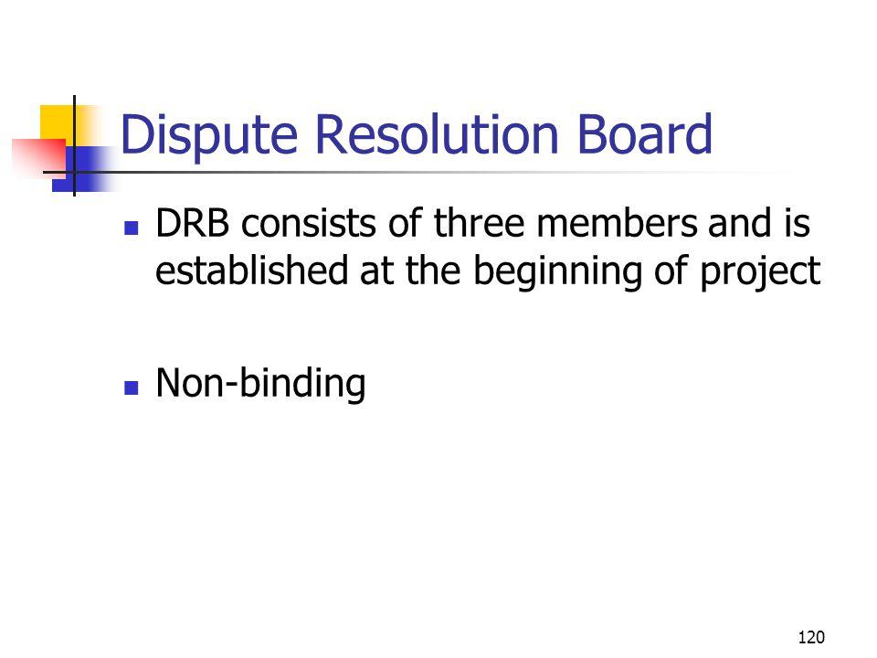 Dispute Resolution Board