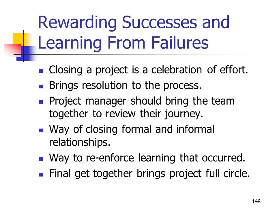 Rewarding Successes and Learning From Failures