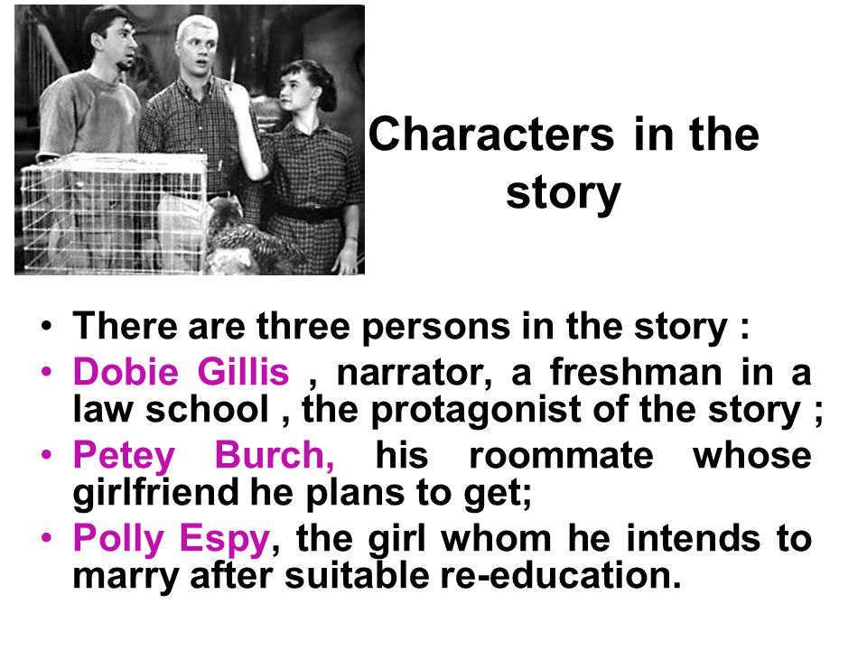 Characters in the story
