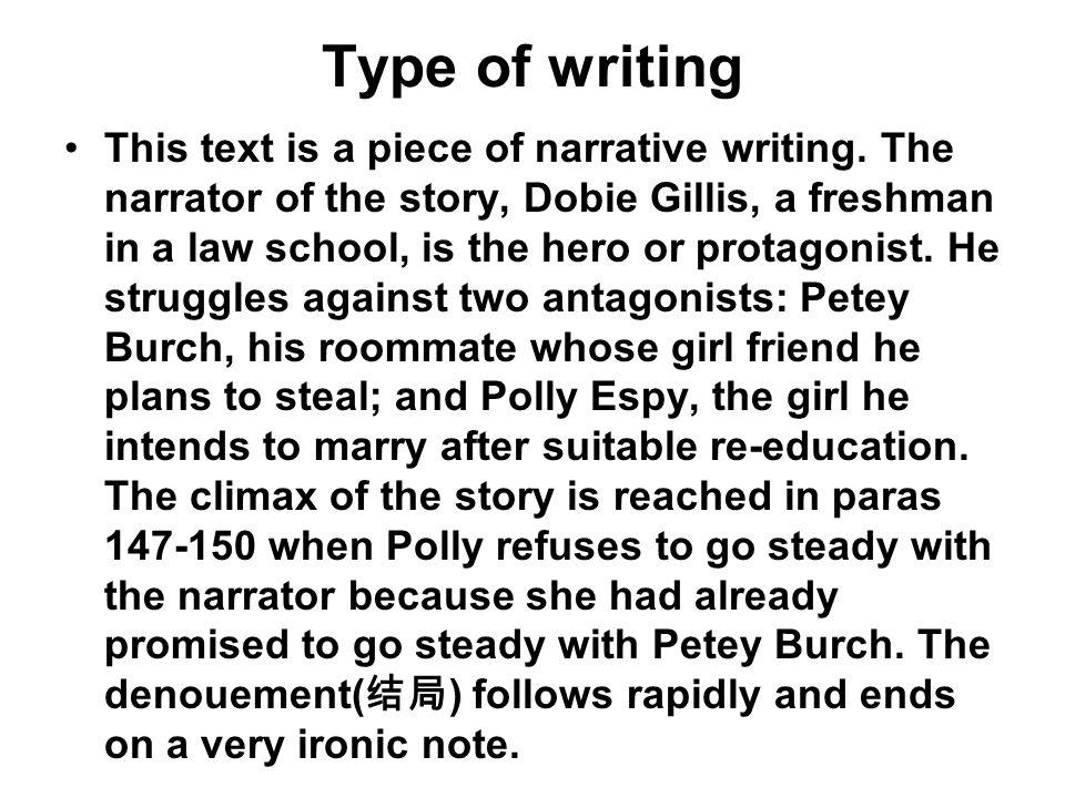 Type of writing