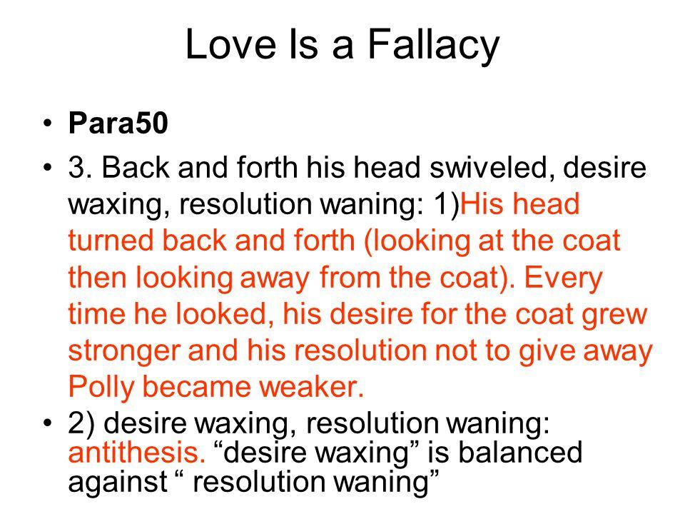 Love Is a Fallacy Para50.