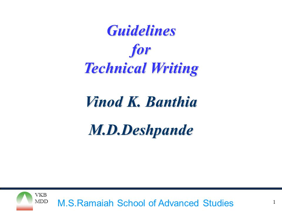 technical writing guidelines This book is intended for anyone whose job involves writing formal  documentation it is aimed at non-native speakers of english, but should also be  of use for.