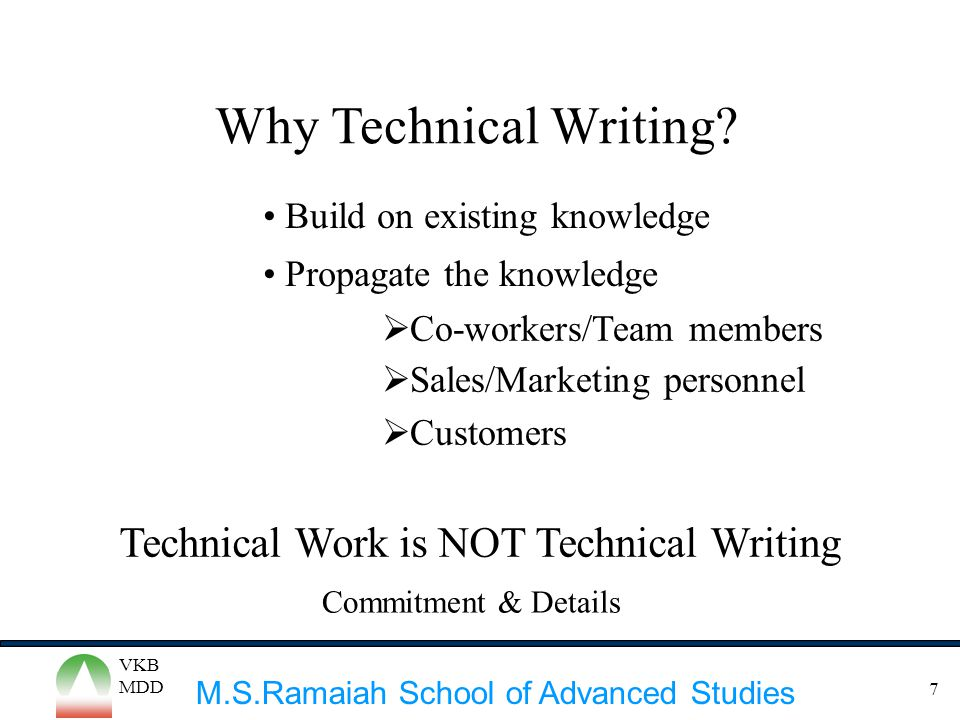 Why Technical Writing Technical Work is NOT Technical Writing