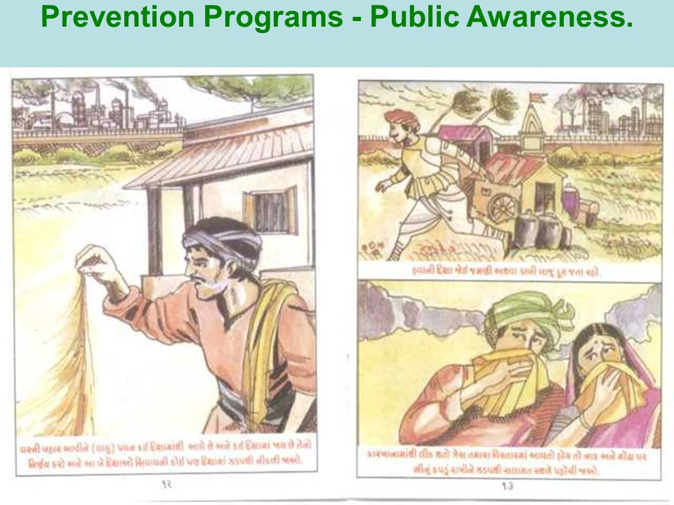 Prevention Programs - Public Awareness.