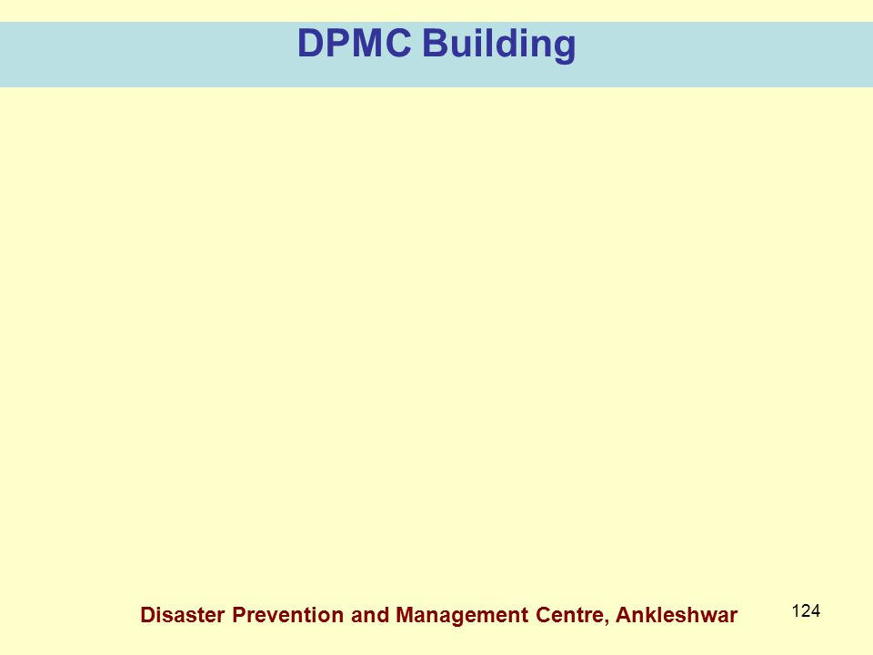 DPMC Building Disaster Prevention and Management Centre, Ankleshwar
