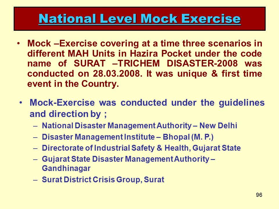 National Level Mock Exercise