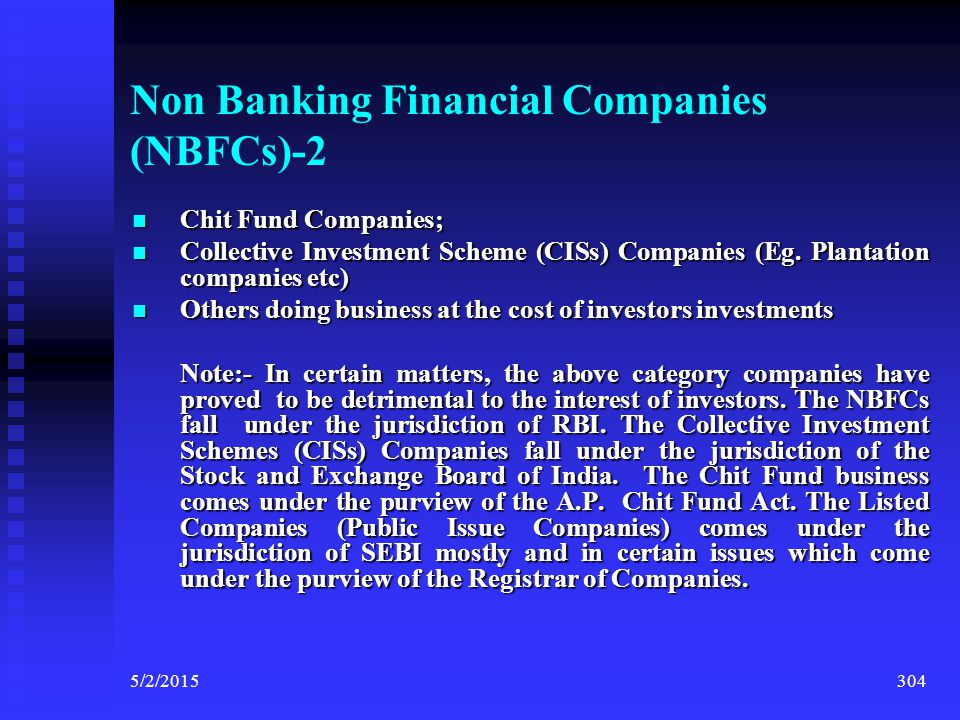 Non Banking Financial Companies (NBFCs)-2