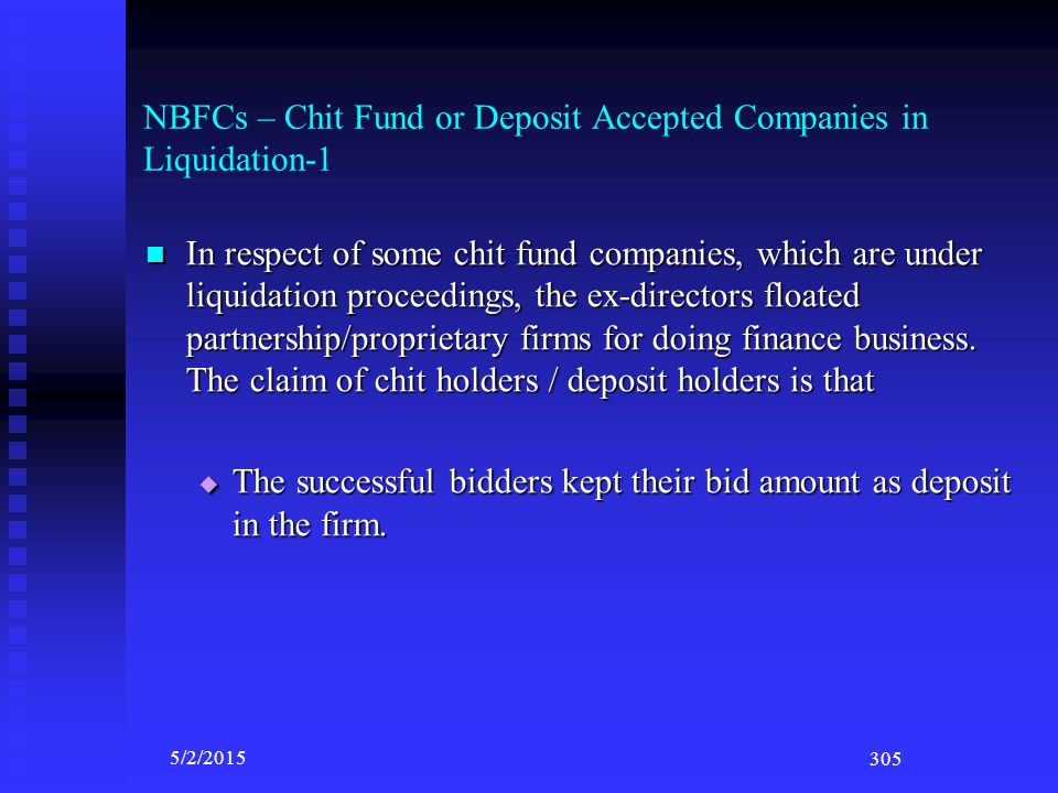 NBFCs – Chit Fund or Deposit Accepted Companies in Liquidation-1