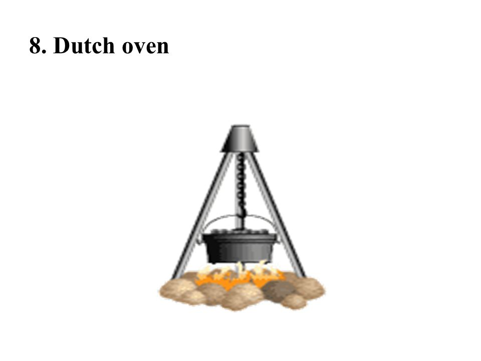 8. Dutch oven