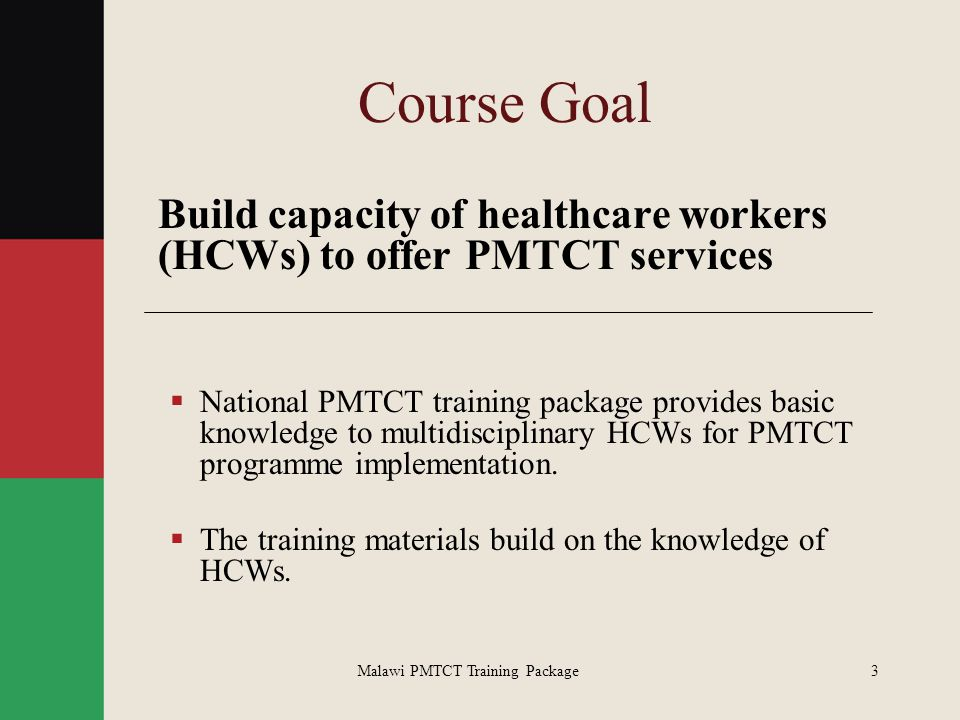 Malawi PMTCT Training Package