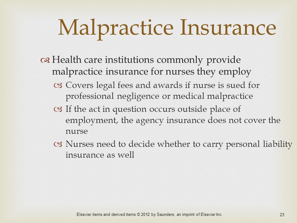 malpractice by nurses and the ethical A nurse commits malpractice when his or her conduct deviates from the normal or expected standard of behavior that would be performed by someone of similar education and experience in similar circumstances.