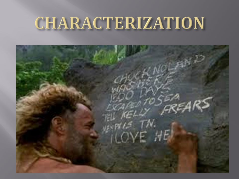 "characterisation in the castaway essay Cast away is a ""story of a workaholic who must learn to live without work,  we  will write a custom essay sample on any topic specifically for you for  that  evoke an emotional response of sympathy for the main character."