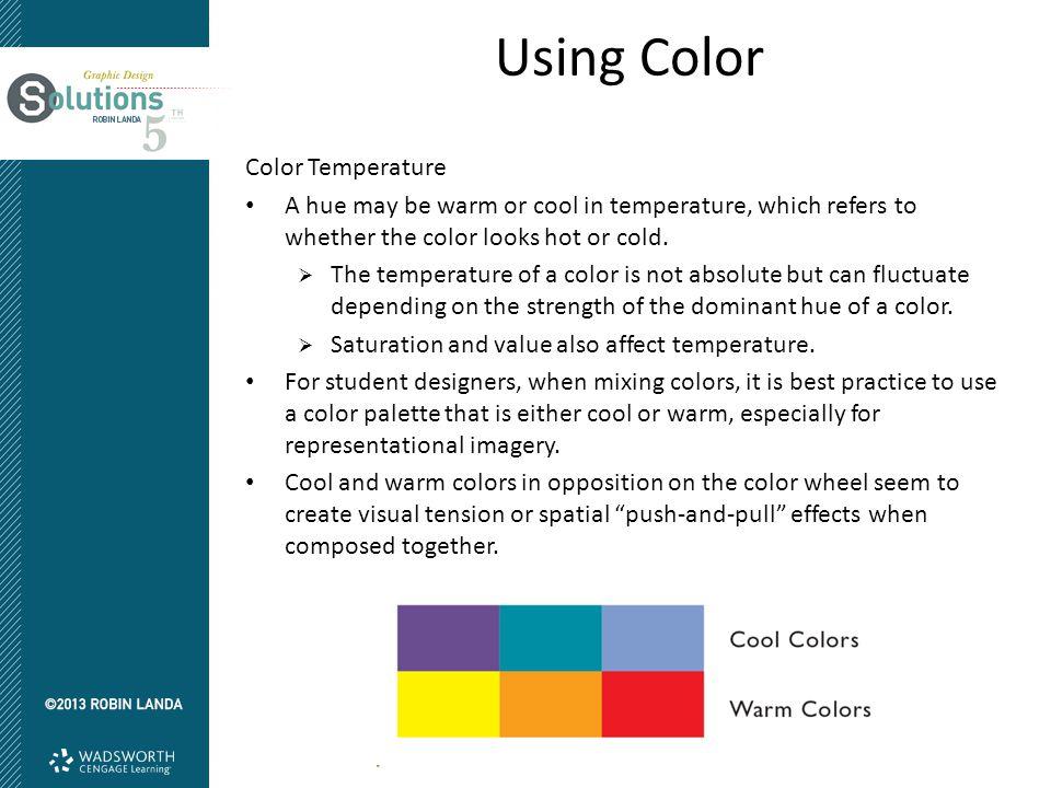 Using Color Color Temperature