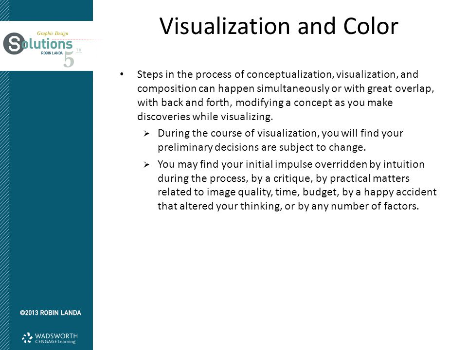 Visualization and Color