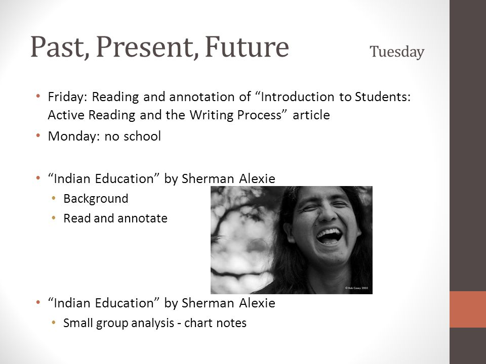 "Analysis of ""Indian Education"" by Sherman Alexie Essay Sample"