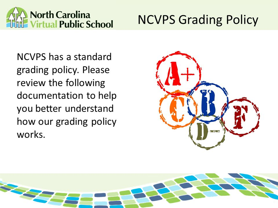 NCVPS Grading Policy