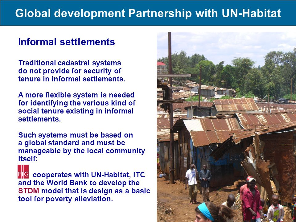 Global development Partnership with UN-Habitat