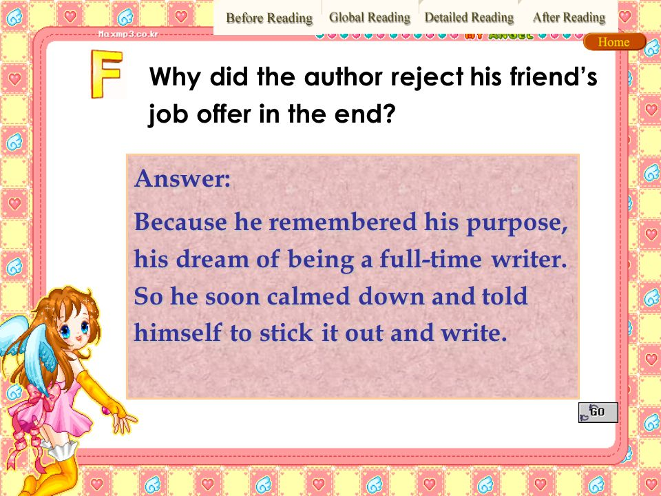 Why did the author reject his friend's job offer in the end
