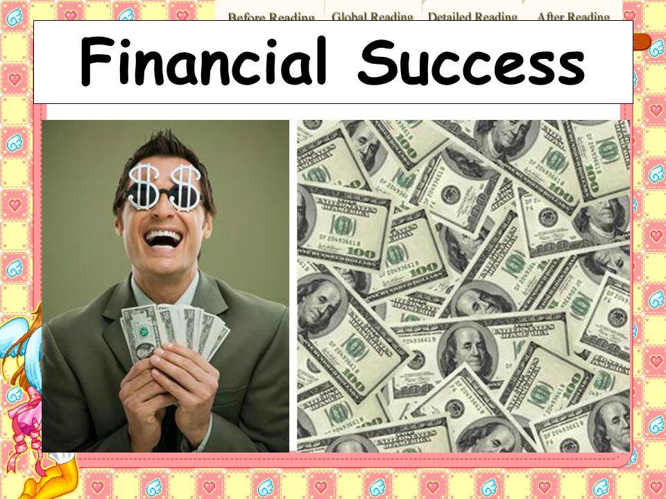 Financial Success 37