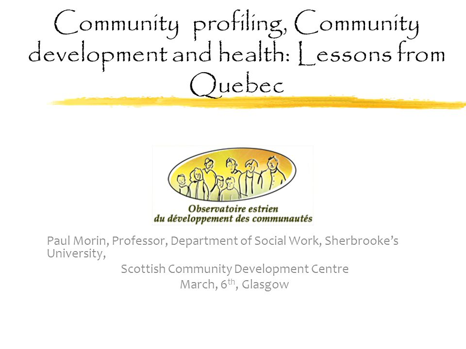 Scottish Community Development Centre