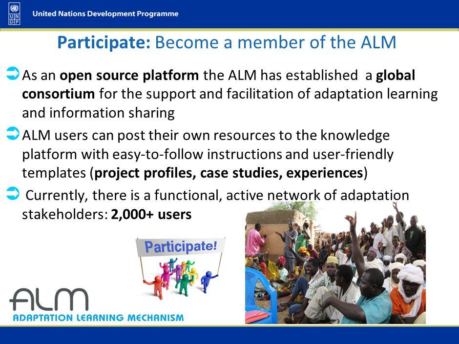 Participate: Site Visits