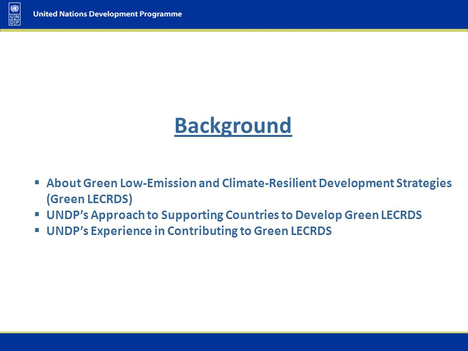 About Green Low-Emission and Climate-Resilient Development Strategies (GREEN LECRDS)