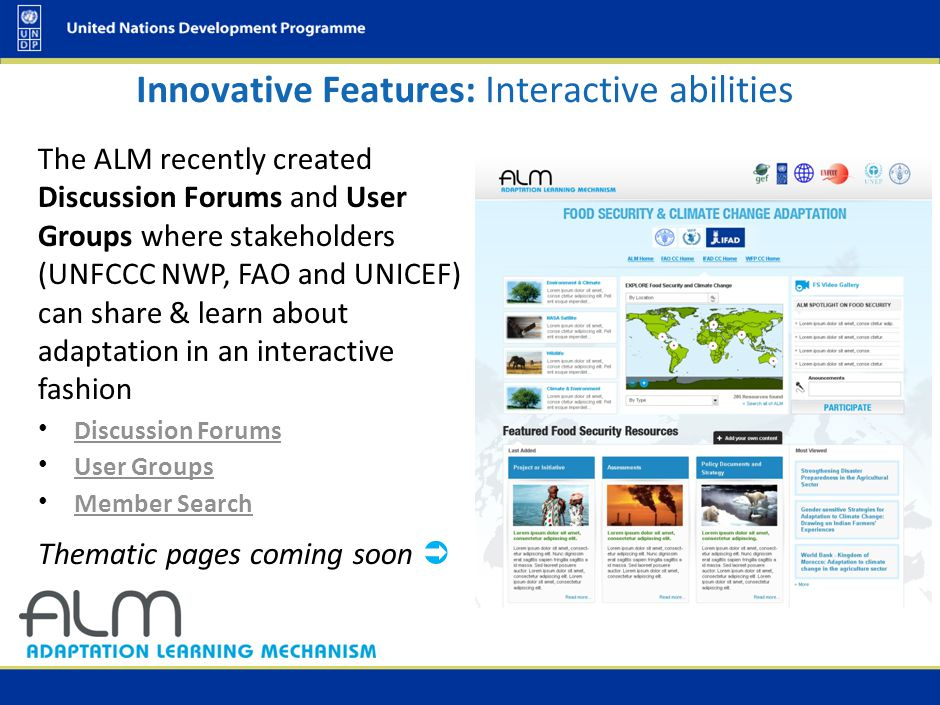 Innovative Features: Multimedia