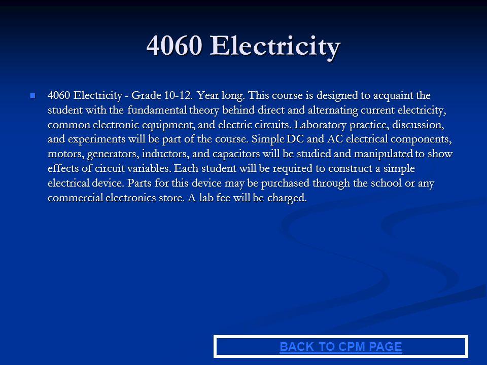 4060 Electricity