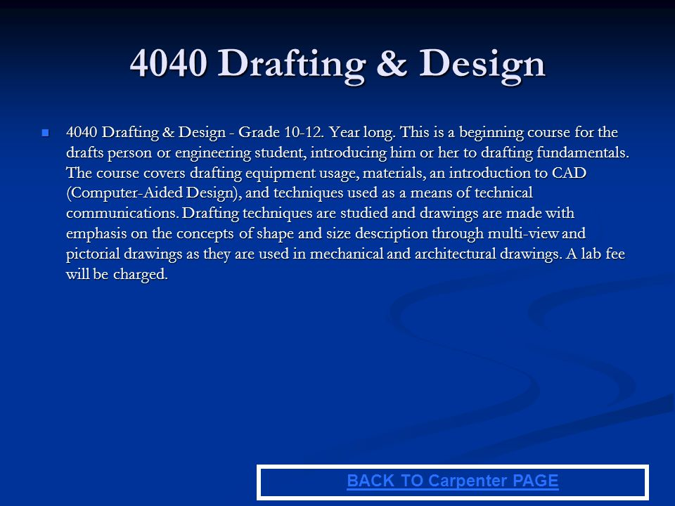4040 Drafting & Design