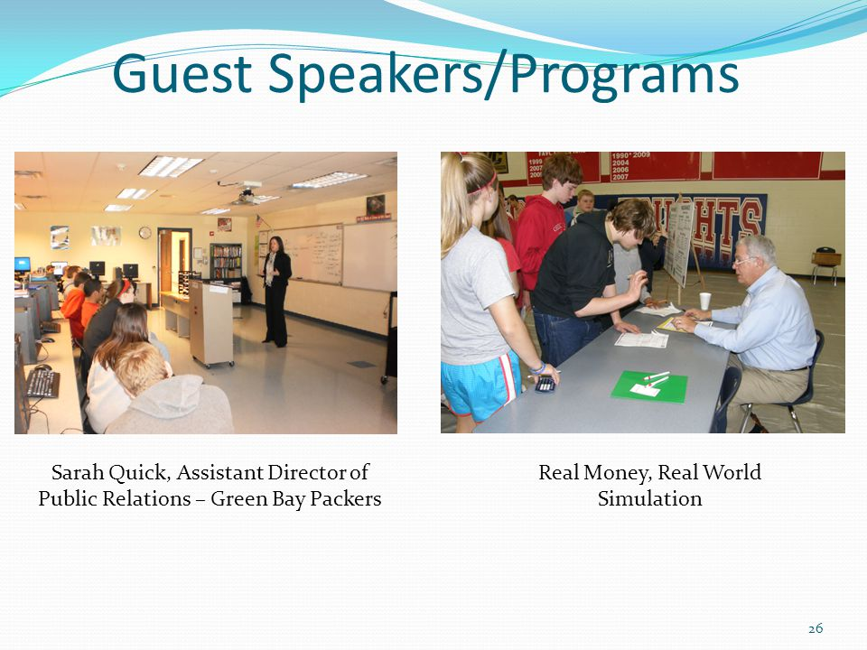 Guest Speakers/Programs