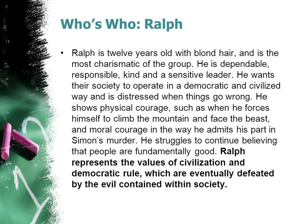 Who's Who: Ralph