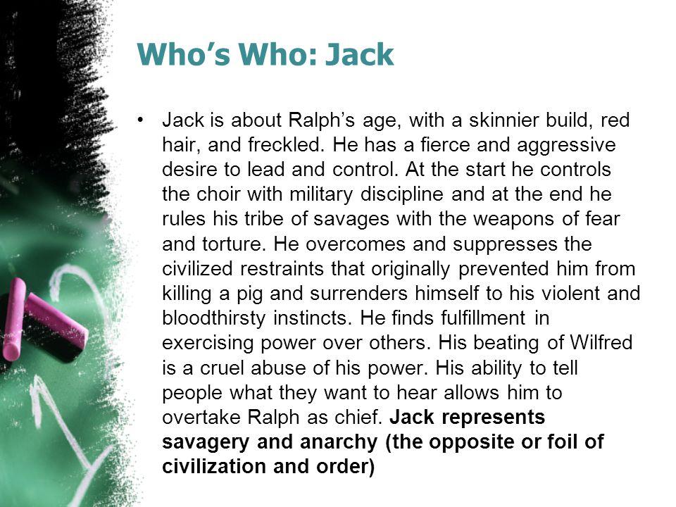 Who's Who: Jack