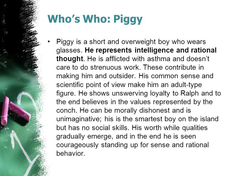 Who's Who: Piggy