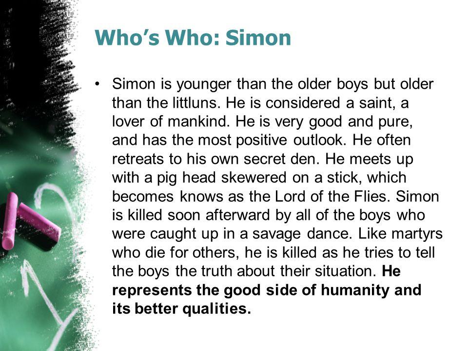 Who's Who: Simon