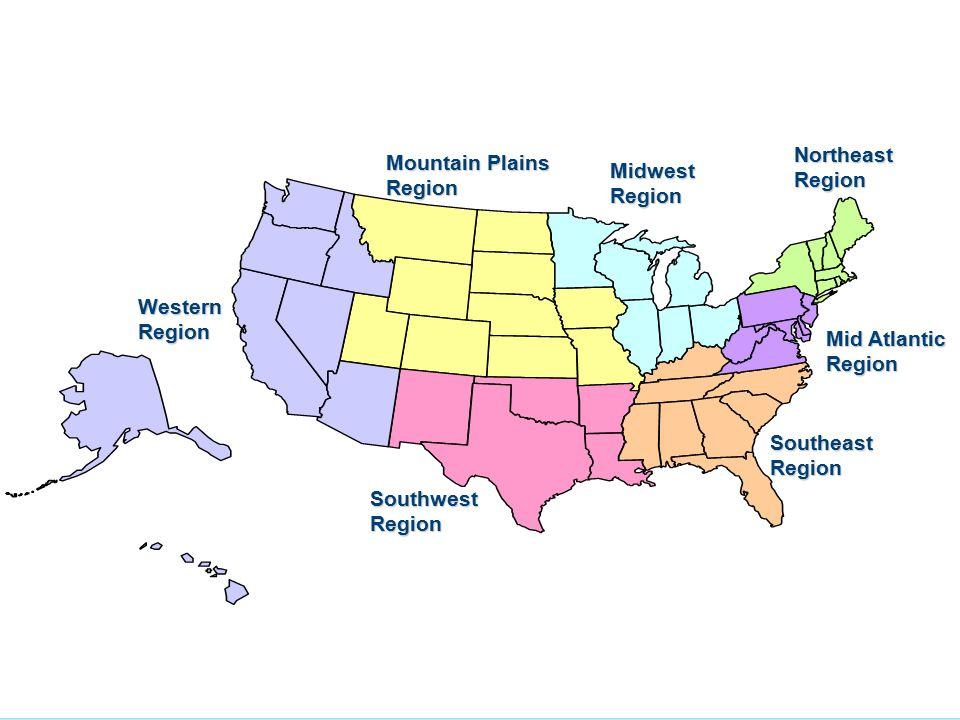 FNS Regional Offices Northeast Region Mountain Plains Region