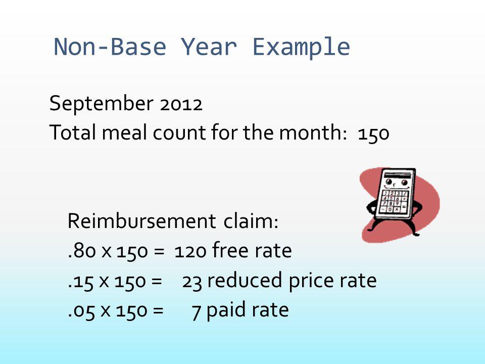 Non-Base Year Example