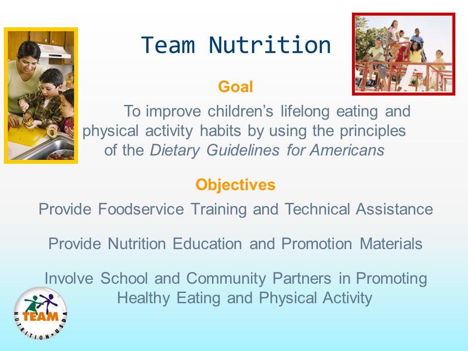 Team Nutrition Goal.