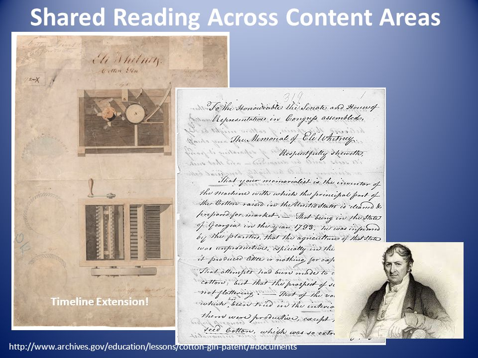 Shared Reading Across Content Areas