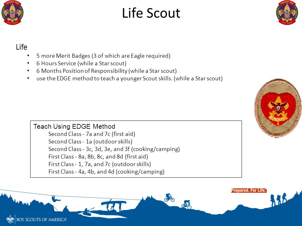Life Scout Life Teach Using EDGE Method