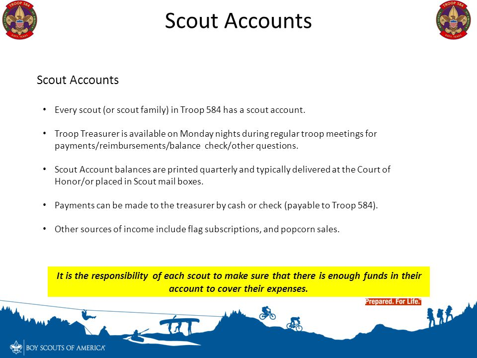 Scout Accounts Scout Accounts