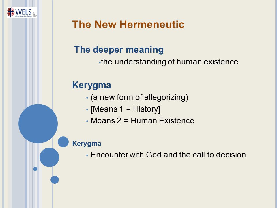 the understanding of human existence.
