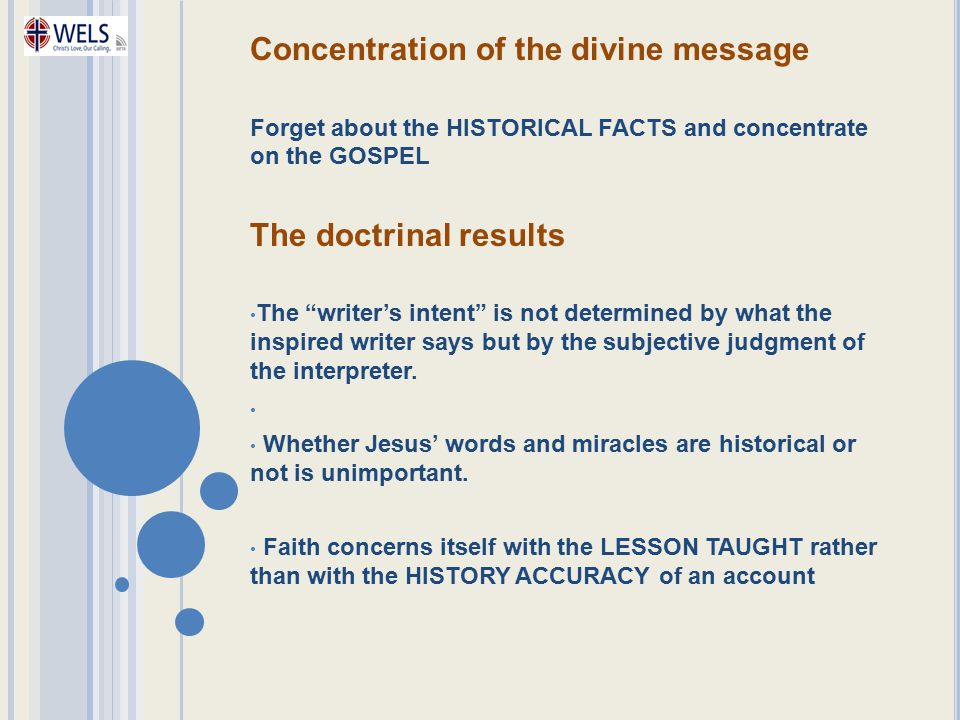 Concentration of the divine message